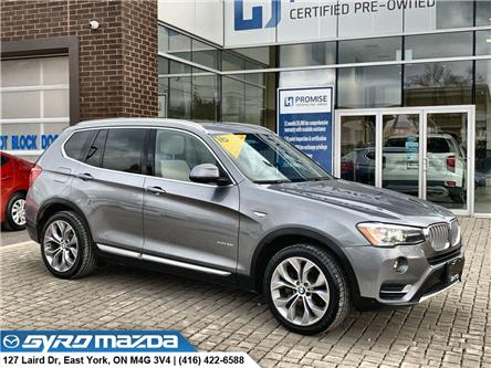 2016 BMW X3 xDrive28i (Stk: 29466) in East York - Image 1 of 30