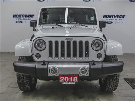 2018 Jeep Wrangler JK Unlimited Sahara | 4x4 | NAV | BACKUP CAM | HTD SEATS | (Stk: W3660) in Brantford - Image 2 of 35