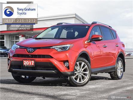2017 Toyota RAV4 Limited (Stk: E8077) in Ottawa - Image 1 of 30