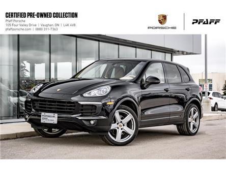 2017 Porsche Cayenne Platinum Edition (Stk: U8515) in Vaughan - Image 1 of 21