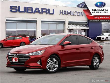 2019 Hyundai Elantra Preferred (Stk: S8062A) in Hamilton - Image 1 of 26