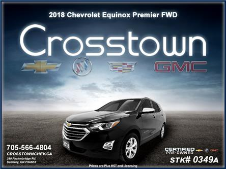 2018 Chevrolet Equinox Premier (Stk: 0349A) in Sudbury - Image 1 of 20