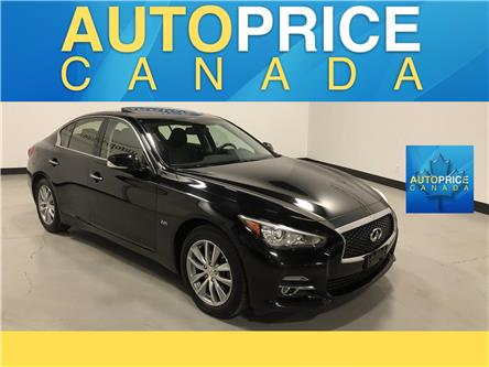 2016 Infiniti Q50 2.0T Base (Stk: W0852) in Mississauga - Image 1 of 27