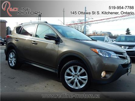 2013 Toyota RAV4 Limited (Stk: 2T3DFR) in Kitchener - Image 1 of 27