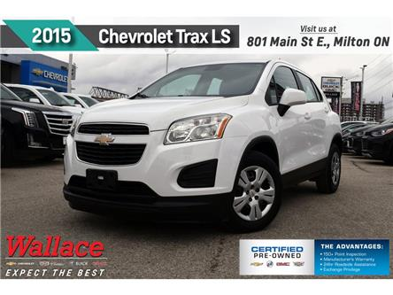 2015 Chevrolet Trax LS | FWD | NEW TIRES | ONE OWNER (Stk: 385326A) in Milton - Image 1 of 17