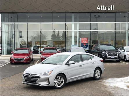 2020 Hyundai Elantra Preferred w/Sun & Safety Package (Stk: KMHD84) in Brampton - Image 1 of 19