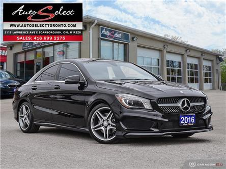 2016 Mercedes-Benz CLA-Class 4Matic (Stk: 16MCL3A) in Scarborough - Image 1 of 28