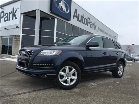 2013 Audi Q7 3.0 TDI (Stk: 13-06417JB) in Barrie - Image 1 of 28