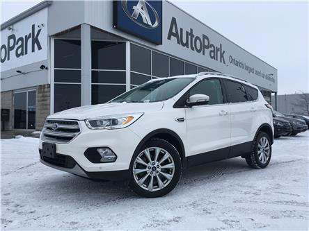 2017 Ford Escape Titanium (Stk: 17-68783MB) in Barrie - Image 1 of 28