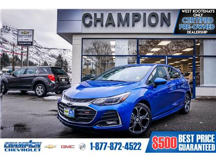 2019 Chevrolet Cruze LT (Stk: P19-269) in Trail - Image 1 of 26