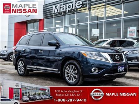 2016 Nissan Pathfinder SL 4WD|Navi|Heated Seats|Blind Spot|AroundView Cam (Stk: UM1694) in Maple - Image 1 of 30