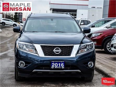 2016 Nissan Pathfinder SL 4WD|Navi|Heated Seats|Blind Spot|AroundView Cam (Stk: UM1694) in Maple - Image 2 of 30