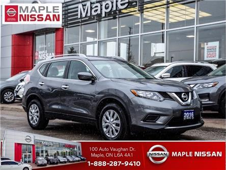 2016 Nissan Rogue S|Bluetooth|Backup Camera|Appearance Package (Stk: UM1689) in Maple - Image 1 of 19