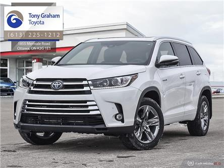 2019 Toyota Highlander Hybrid Limited (Stk: 58771) in Ottawa - Image 1 of 28