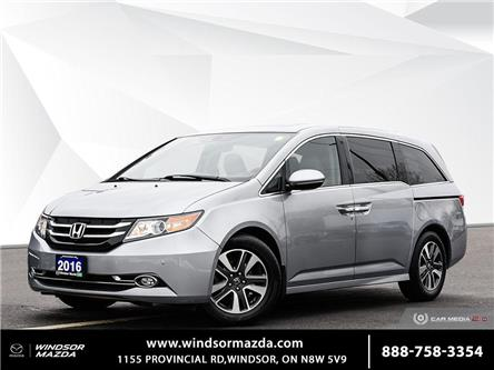 2016 Honda Odyssey Touring (Stk: PR2310) in Windsor - Image 1 of 28