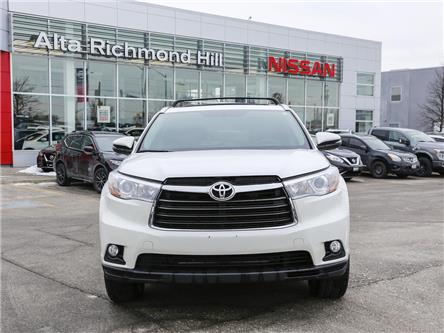 2016 Toyota Highlander Limited (Stk: RY19Q177A) in Richmond Hill - Image 2 of 31