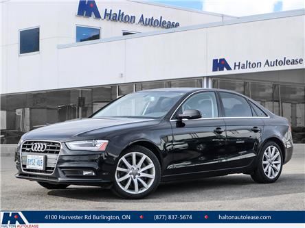 2014 Audi A4 2.0 Komfort (Stk: 310559) in Burlington - Image 1 of 25