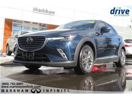 2018 Mazda CX-3 GT (Stk: P3352A) in Markham - Image 1 of 20