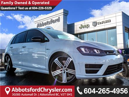 2016 Volkswagen Golf R 2.0 TSI (Stk: AB1007) in Abbotsford - Image 1 of 25