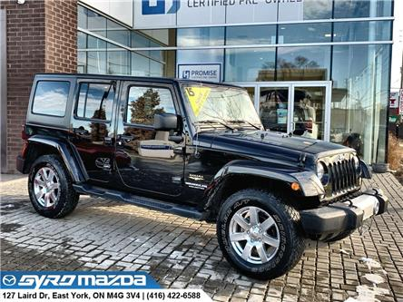 2015 Jeep Wrangler Unlimited Sahara (Stk: 29236B) in East York - Image 1 of 27