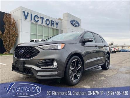 2019 Ford Edge ST (Stk: V10363CAP) in Chatham - Image 1 of 27