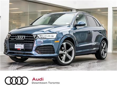 2016 Audi Q3 2.0T Technik (Stk: P3612) in Toronto - Image 1 of 29