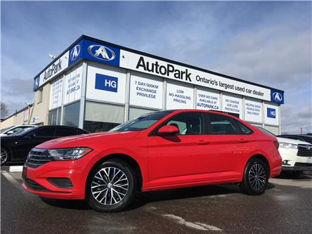 2019 Volkswagen Jetta 1.4 TSI Highline (Stk: 19-14496) in Brampton - Image 1 of 21