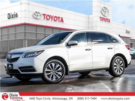 2016 Acura MDX Navigation Package (Stk: D200814A) in Mississauga - Image 1 of 30