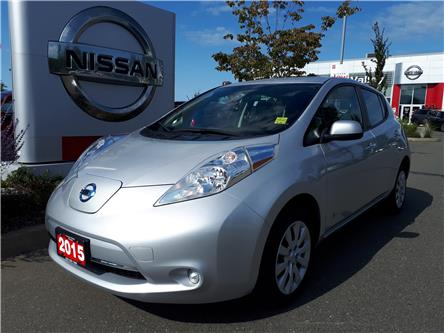 2015 Nissan LEAF S (Stk: P0107) in Courtenay - Image 1 of 9