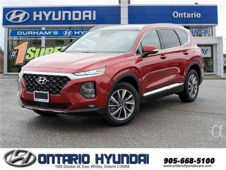 2020 Hyundai Santa Fe Preferred 2.0 w/Sun & Leather Package (Stk: 177394) in Whitby - Image 1 of 20