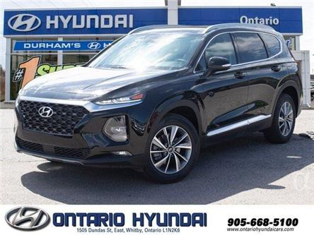 2020 Hyundai Santa Fe Preferred 2.4 w/Sun & Leather Package (Stk: 159549) in Whitby - Image 1 of 21