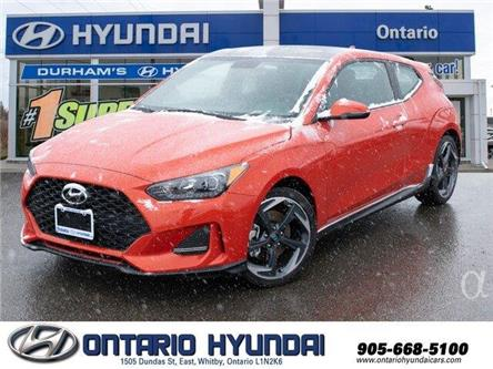 2020 Hyundai Veloster Turbo w/Two-Tone Paint (Stk: 025133) in Whitby - Image 1 of 18
