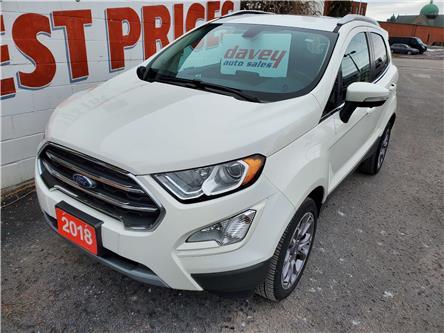 2018 Ford EcoSport Titanium (Stk: 20-058) in Oshawa - Image 1 of 16