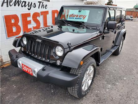 2015 Jeep Wrangler Unlimited Sahara (Stk: 19-572) in Oshawa - Image 1 of 14