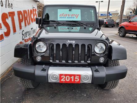 2015 Jeep Wrangler Unlimited Sahara (Stk: 19-572) in Oshawa - Image 2 of 14