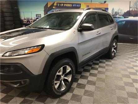 2017 Jeep Cherokee Trailhawk (Stk: 571544) in NORTH BAY - Image 2 of 27