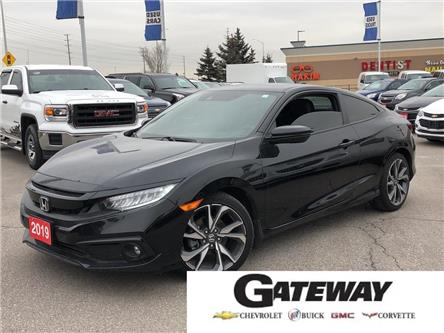 2019 Honda Civic Coupe Touring|LEATHER|SUNROOF|ALLOY|NAVI| (Stk: 152895A) in BRAMPTON - Image 1 of 18