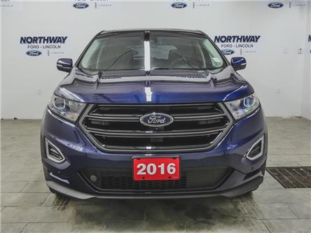 2016 Ford Edge Sport | AWD | NAV | PWR HTD LEATHER | PANOROOF | (Stk: P5298) in Brantford - Image 2 of 44