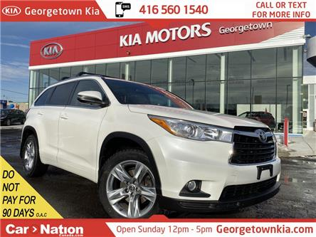 2016 Toyota Highlander Limited AWD | LEATHER | ROOF| NAVI |BU CAM| 7 PASS (Stk: P13035) in Georgetown - Image 1 of 41