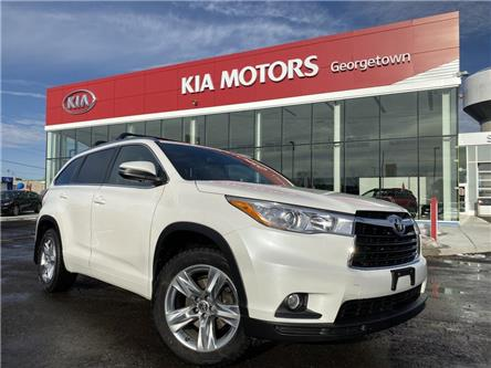 2016 Toyota Highlander Limited AWD | LEATHER | ROOF| NAVI |BU CAM| 7 PASS (Stk: P13035) in Georgetown - Image 2 of 41