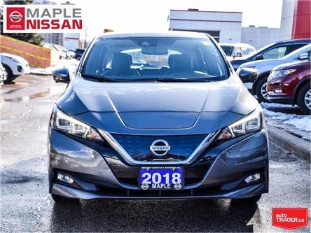 2018 Nissan LEAF SL|Navi|Heated Seats|Apple CarPlay|Around View Cam (Stk: M19L016A) in Maple - Image 2 of 27