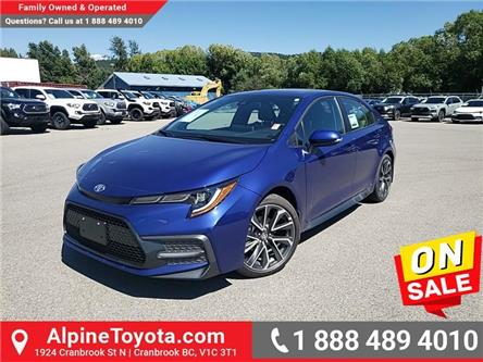2020 Toyota Corolla SE (Stk: P003116) in Cranbrook - Image 1 of 24