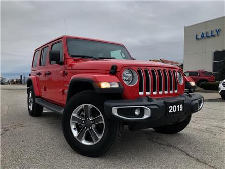 2019 Jeep Wrangler Unlimited Sahara (Stk: S10450R) in Leamington - Image 1 of 26