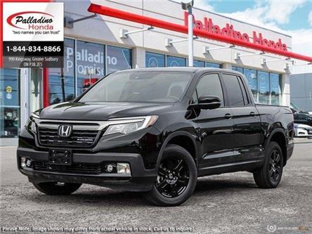 2020 Honda Ridgeline Black Edition (Stk: 22378) in Greater Sudbury - Image 1 of 22
