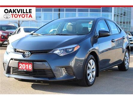 2016 Toyota Corolla LE (Stk: LP1444) in Oakville - Image 1 of 17