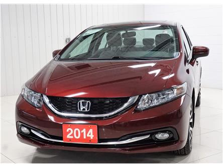2014 Honda Civic Touring (Stk: P5695B) in Sault Ste. Marie - Image 1 of 24
