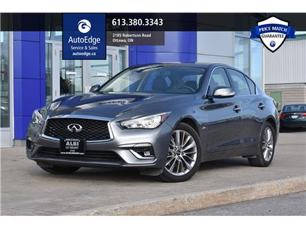 2018 Infiniti Q50 2.0t LUXE (Stk: A0104) in Ottawa - Image 1 of 30