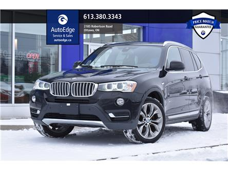 2017 BMW X3 XDRIVE30I (Stk: A0113A) in Ottawa - Image 1 of 29