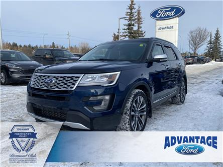 2017 Ford Explorer Platinum (Stk: K-2579A) in Calgary - Image 1 of 25