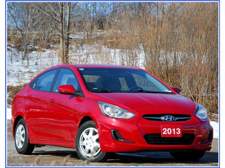 2013 Hyundai Accent L (Stk: 150800A) in Kitchener - Image 1 of 15